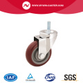 Medium duty PVC Threaded Stem Caster