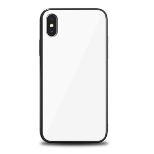 9H Tempered Glass Back Case