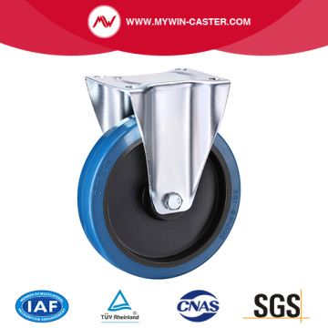 Plate Fixed Trash Bin Caster