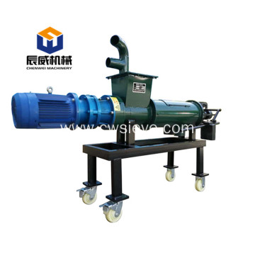 Factory supply cow manure solid-liquid separator