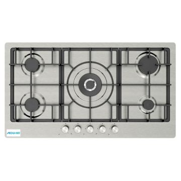 75cm Stainless Steel Gas Cooktop