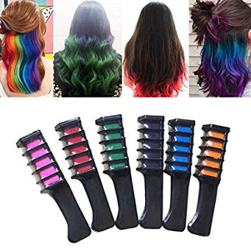 Washable Hair Color Comb Temporary Hair Dye