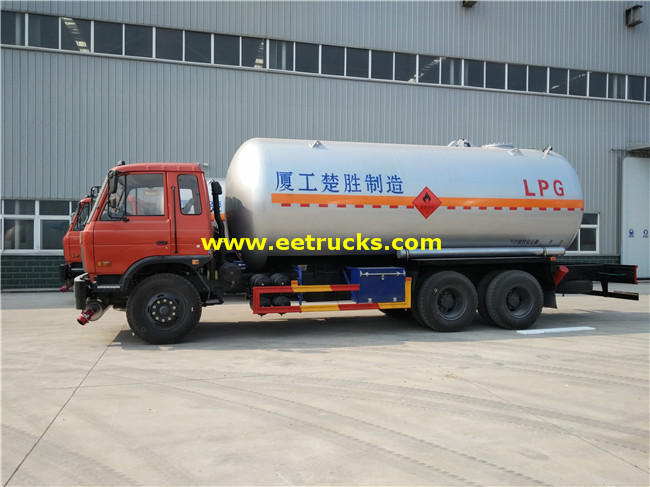 6x4 Propane Gas Tank Trucks