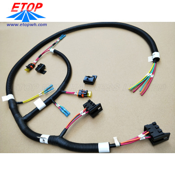 Automotive Relay to IP67 Fuse Box Cable Assy