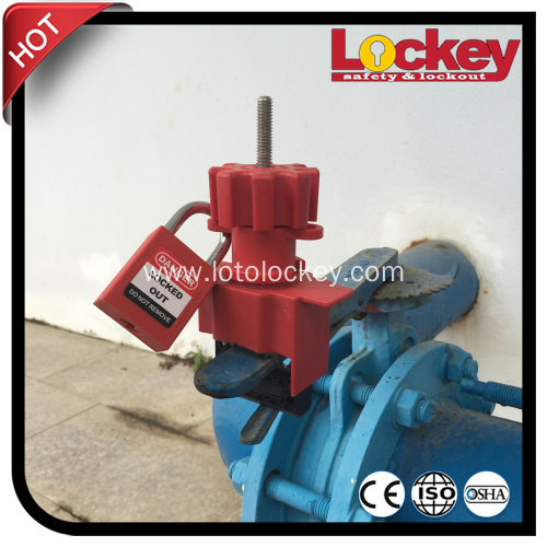 Oversized Butterfly Valve Lockout