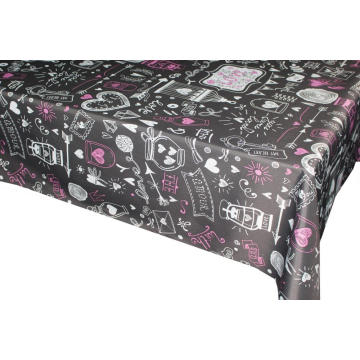 Pvc Printed fitted Rectangular table covers