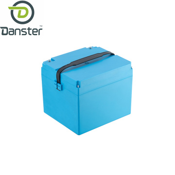 Deep cycle and high capacity motorbike battery