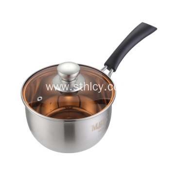 High Quality Stainless Steel Milk Pot With Cover