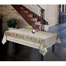 "Readymade Tablecloth With 4"" Lace Edge"