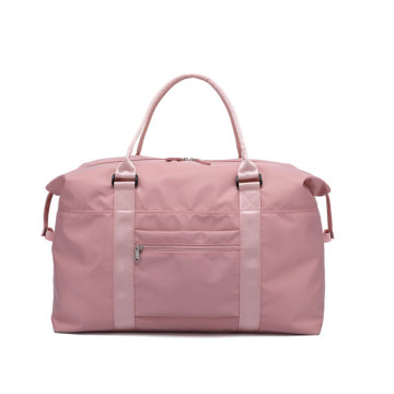 Pink Travel Yoga Small Duffle Bag for Lady