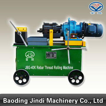 JBG-40KI/40T/40F Rebar Threading Machine for deformed bar