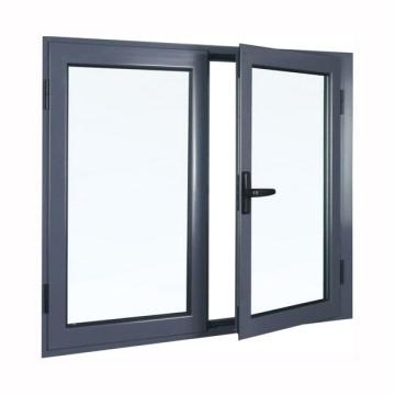 aluminum casement window design with glass factory sale