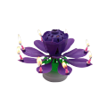 Lotus Rotation Music Happy Birthday Cake Candle