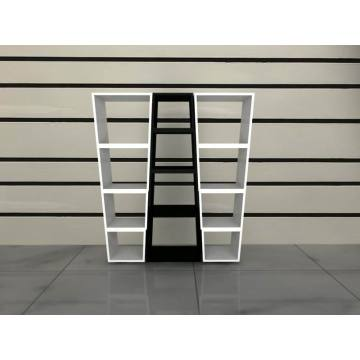 Italian furniture style bookcases wooden simple bookself