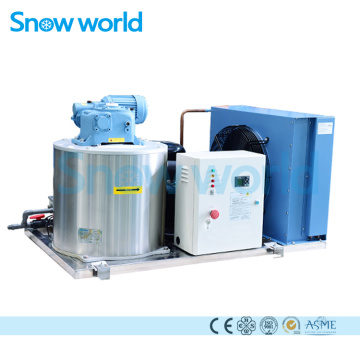 Snow world 750KG Flake Ice Machine Sea Water