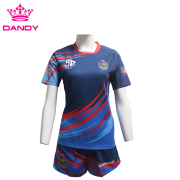 Охирин мардон Custom Custom Sublimation Team Shug регби
