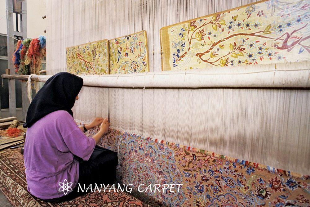 handwoven Isfahan rugs