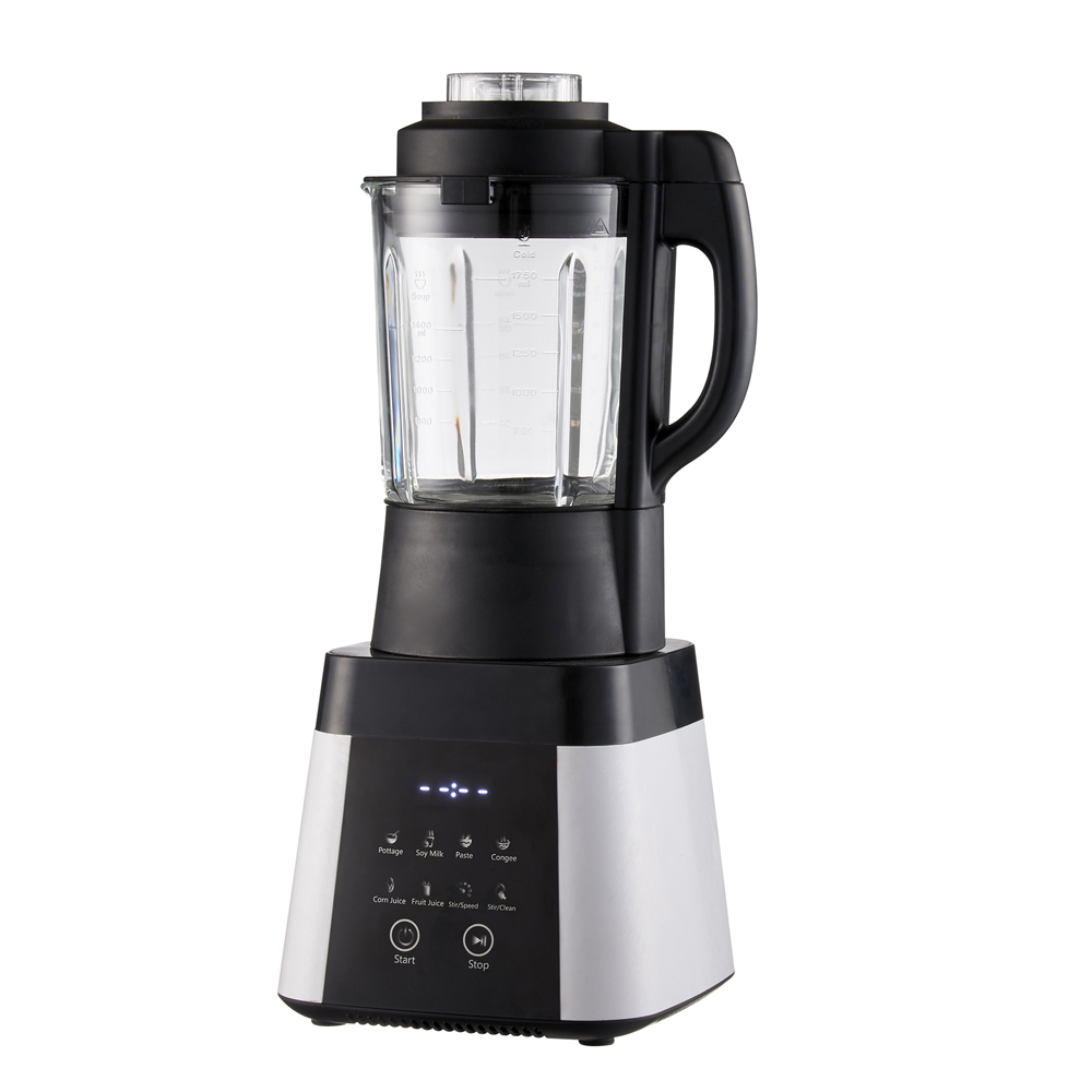 Professional Countertop Blender with Digital Control Panel