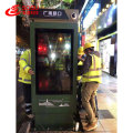 Vertical Double Sided Screen LCD Advertising Player