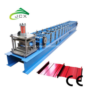 Machine for roof sheet production