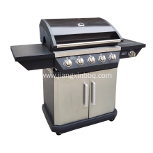 Hot Sale for for China Propane Gas BBQ Grill,Propane Gas Grill,Propane BBQ Supplier 5 Burners With Side Burner Gas Grill export to Portugal Suppliers