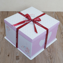Birthday cake box paper box