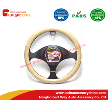 Cream Colored Steering Wheel Cover