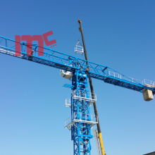 Hot Selling for for Topless Tower Crane 18ton Flat top with 75m jib export to French Southern Territories Supplier
