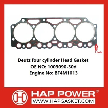 Deutz four cylinder Head Gasket OE 1003090-30d