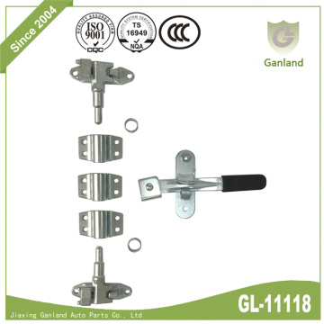 Universal Small Van Rear Door Lock With Forged Handle