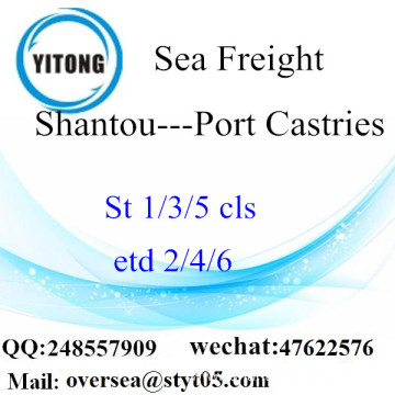 Shantou Port LCL Consolidation To Port Castries