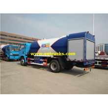 China for Lpg Gas Cylinder Filling Trucks 15m3 4x2 Propane Filling Trucks supply to Saint Vincent and the Grenadines Suppliers
