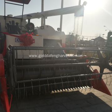 machinery 4LZ-5A full-feed rice combine harvester with cab