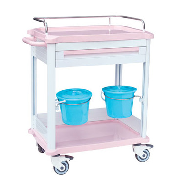 Internal drawer ABS treatment cart