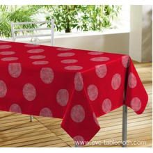 Elegant Tablecloth with Non woven backing Forming