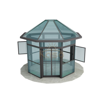 Sunroom Room Garden Greenhouse Frame Aluminum Glass House