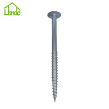 Wholesale price stable quality for Ground Screw with Flange Good price  ground screw anchor for greenhouse supply to Greece Manufacturer
