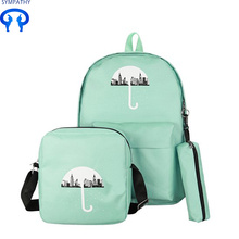 The new nylon backpack women's college style