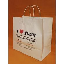 Cheap White Paper Bags With Handles