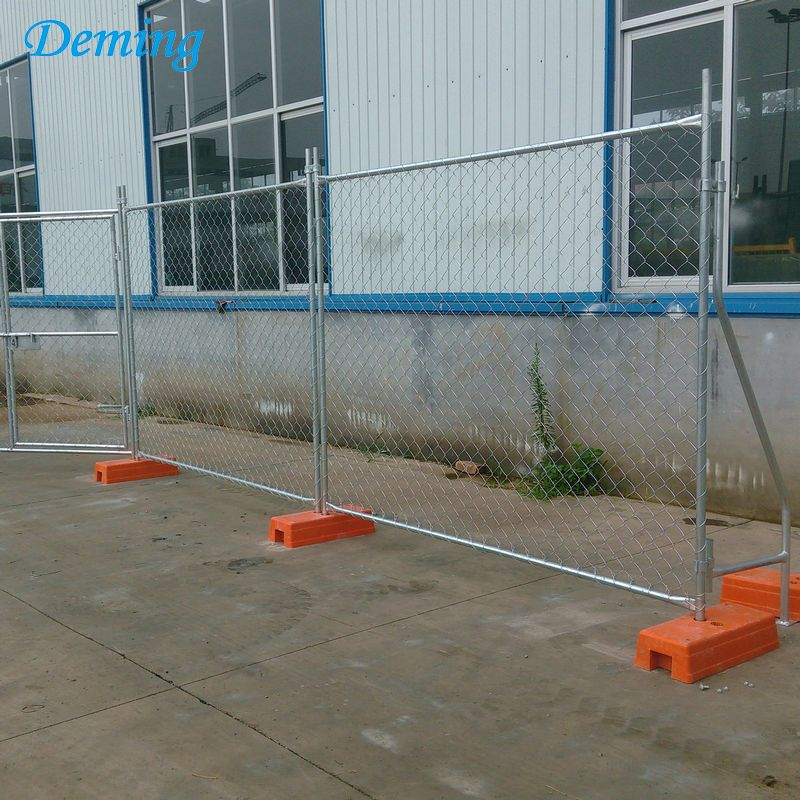Used Hot Dipped Galvanized Temporary Fence at Lowes