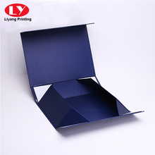 luxury navy square necktie box