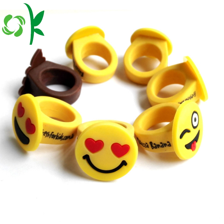 Emoji Emoticons Rings