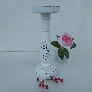 2017 New Long Wooden Candle Holder