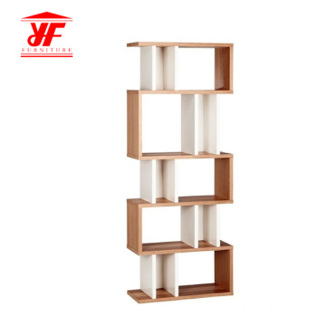 Popular Latest Hot Selling Ladder Wooden Bookshelf