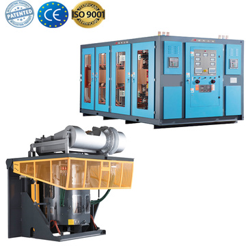 industrial medium frequency scrap bronze melting furnace