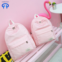 New nylon backpack for women's bags schoolbag