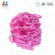 Shinning mesh lace sponge body exfoliator bath ball