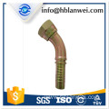 Galvanized Malleable Iron Elbow Pipe Fittings Beaded