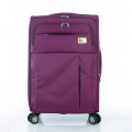 fabric luggage bags purple color strong trip bags