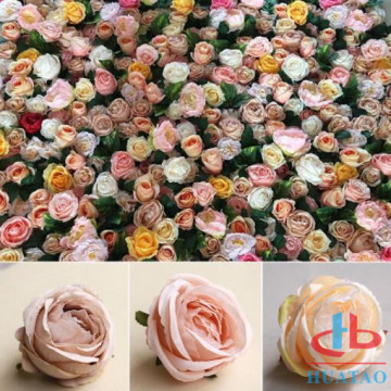 Artificial Silk Flower Wall Decorative Wedding
